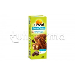 Cereal Mini Plumcake al Cioccolato Senza Glutine 200g