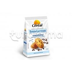 Cereal Senza Lattosio Madeleine con Pepite di Cioccolato Senza Glutine 210g