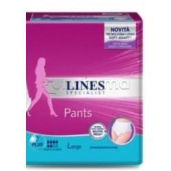 Lines Pants Plus Mutandine Assorbenti Misura Large 12 Pezzi