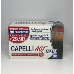 Capelli Act Forte Integratore per Benessere dei Capelli 90 Compresse