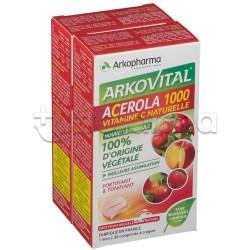 Arkovital Acerola 1000 Vitamina C Formato Famiglia 60 Compresse