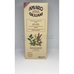 Amaro Giuliani Elisir di Benessere per Digestione e Fegato 300ml