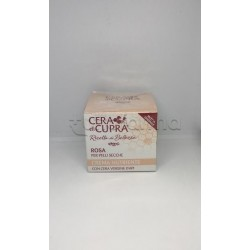 Cera di Cupra Rosa Crema Idratante per Pelle Secca 50ml