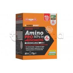 Named Sport Amino Pro MP9 Aminoacidi Essenziali per Sport 18 Bustine