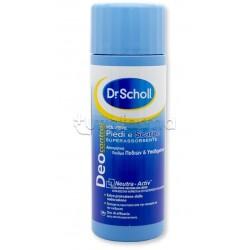 Dr. Scholl's Polvere Piedi e Scarpe Deo Control Deodorante Assorbente 75 gr