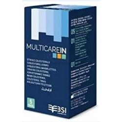 Multicare In Striscette Misurazione Trigliceridi 5 Strisce