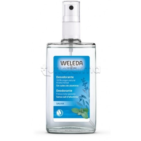 Weleda Deodorante Spray alla Salvia 100ml
