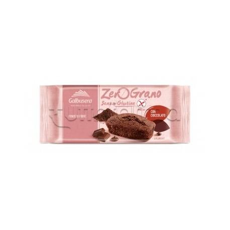Zerograno Plumcake Cioccolato Senza Glutine 4 Porzioni 180g