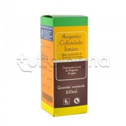Argento Colloidale Ionico Antibatterico 40ppm 100ml Gocce e Spray