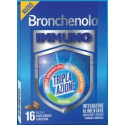 Bronchenolo Immuno Integratore per Sistema Immunitario 16 Pastiglie