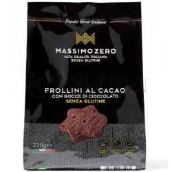 Massimo Zero FrolliniI Biscotti Cacao Senza Glutine 220g