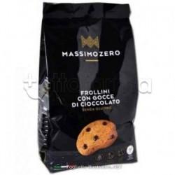 Massimo Zero Frollini Gocce di Cioccolato Biscotti Senza Glutine 220g