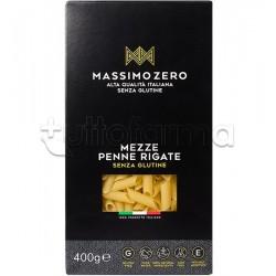 Massimo Zero Mezze Penne Rigate Pasta Senza Glutine 400g
