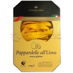 Massimo Zero Pappardelle All'Uovo Pasta Senza Glutine 250 g