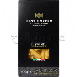 Massimo Zero Rigatoni Pasta Senza Glutine 400g