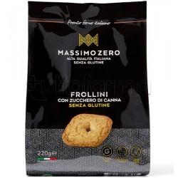 Massimo Zero Frollini di Zucca Biscotti Senza Glutine 220g