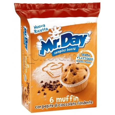 MrDay Muffin con Cioccolato e Pepite di Cioccolato Senza Glutine 252 g
