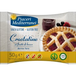 Piaceri Mediterranei Crostatina ai Frutti di Bosco Senza Glutine 50g