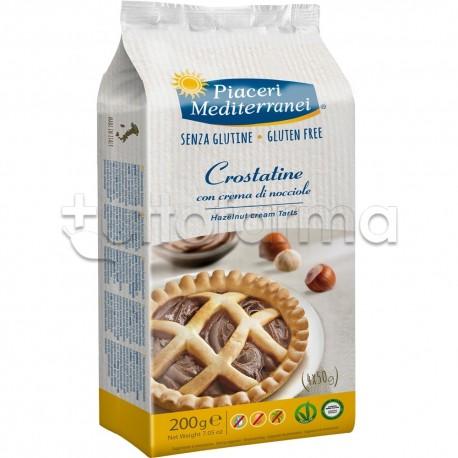 Piaceri Mediterranei Crostatina alla Nocciola Senza Glutine 4X50g