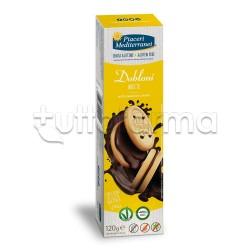 Piaceri Mediterranei Dobloni con Crema alla Nocciola Senza Glutine 120g