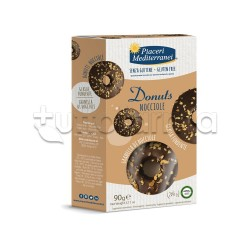 Piaceri Mediterranei Donuts alle Nocciole Senza Glutine 90g