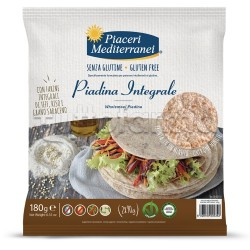 Piaceri Mediterranei Piadina Integrale Senza Glutine 180g