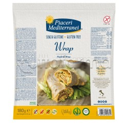 Piaceri Mediterranei Piadina Wrap Senza Glutine 180g