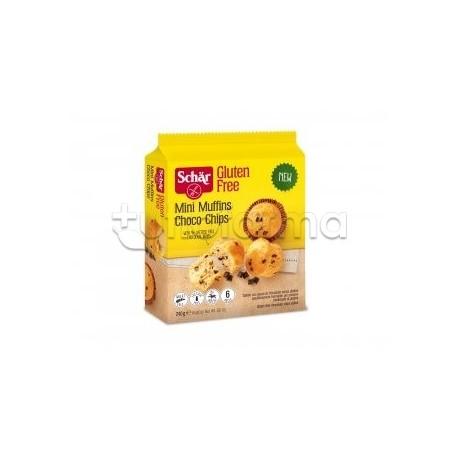 Schar Mini Muffin Choco Chips Senza Glutine 240g