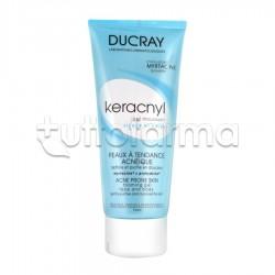 Ducray Keracnyl Gel Detergente Purificante Seboregolatore per Pelle Grassa e Acneica 200 ml