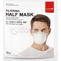 Mascherina Respiratoria Filtrante FFP3 Certificata CE 5 Mascherine