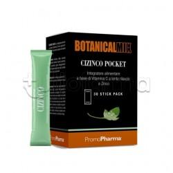 Botanical Mix Cizinco Pocket Integratore 30 Stick