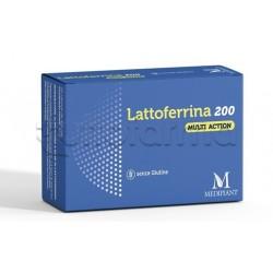 Mediplant Lattoferrina 200 Multi Action Integratore per Difese Immunitarie 20 Capsule