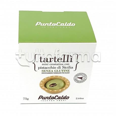 Punto Caldo Tartellì Mini Crostatina al Pistacchio 75g