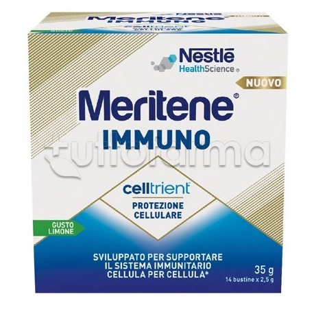 Nestlè Meritene Immuno Integratore per Sistema Immunitario 14 Bustine