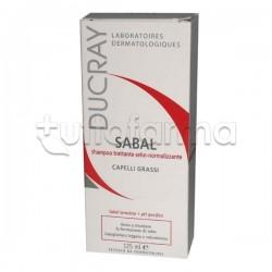 Ducray Sabal Shampoo Sebonormalizzante Capelli Grassi 200 ml