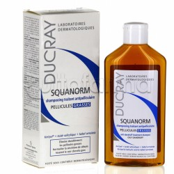 Ducray Squanorm Shampoo Anti Forfora Grassa 200 ml