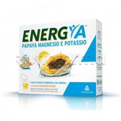 Energya Papaya Integratore con Magnesio e Potassio 14 Bustine