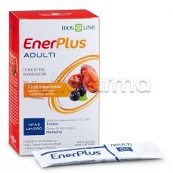 Enerplus Adulti Integratore per Stanchezza Fisica 15 Bustine