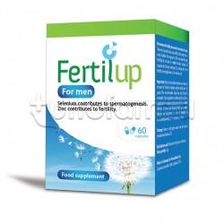 Fertilup Uomo Integratore per Metabolismo Ormonale 60 Capsule