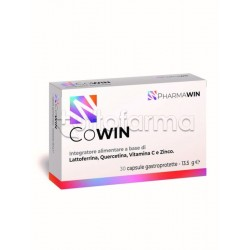 Pharmawin Cowin Integratore per Difese Immunitarie 30 Capsule
