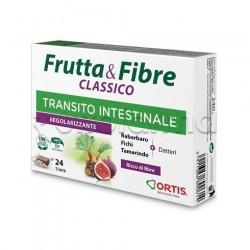 Frutta & Fibre Classico Integratore per la Stitichezza 24 Cubetti