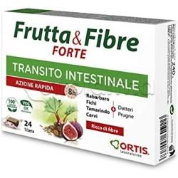 Frutta & Fibre Forte Integratore per Transito Intestinale 24 Cubetti
