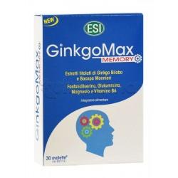 Esi Ginkgomax Memory Integratore per Memoria e Concentrazione 30 Ovalette