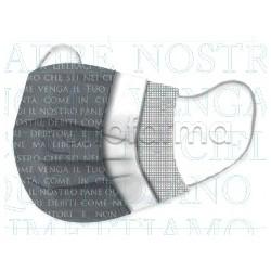 Mascherina Chirurgica Monouso a Triplo Strato Amen Stampa Padre Nostro- Confezione 10 Pezzi - 40 Centesimi a Mascherina