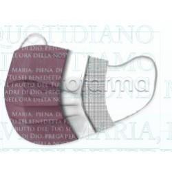 Mascherina Chirurgica Monouso a Triplo Strato Amen Stampa Ave Maria - Confezione 10 Pezzi - 40 Centesimi a Mascherina
