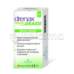 Drenax Forte Grassi Dimagrante Riduce Grassi 45 Compresse