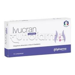Ivucran Integratore per Benessere Vie Urinarie 14 Compresse