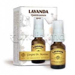 Dr. Giorgini Lavanda Quintessenza Spray per Rilassamento Mentale 15ml