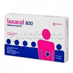 Laxacol 800 Integratore per Transito Intestinale 30 Capsule