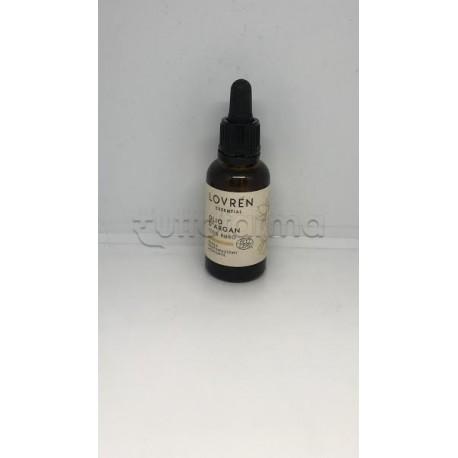 Lovren Olio di Argan Puro 100% per Capelli, Pelle e Unghie 30ml